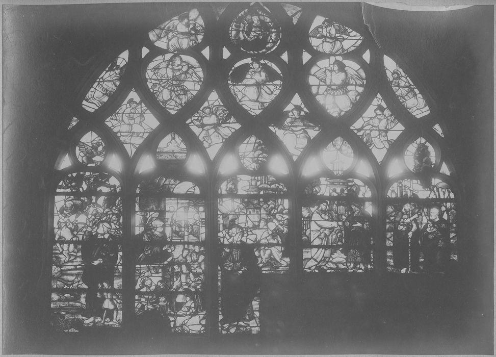 Verrière : Scènes de la vie de saint Pierre (baie 2)