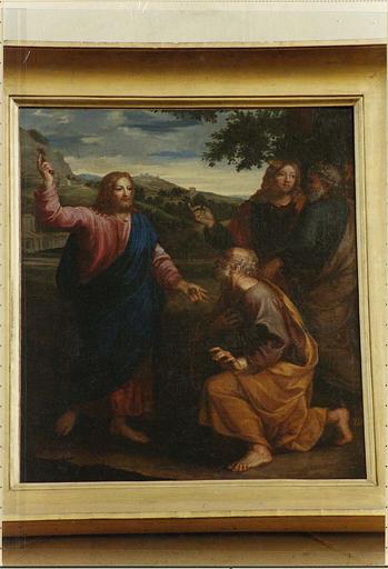 Tableau : l'Ordre ou la Remise des clefs à saint Pierre