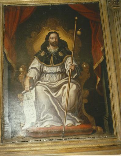 Tableau : Image véritable de saint Jacques de Compostelle (autel, retable, statue)
