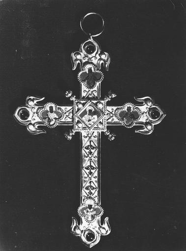 Croix pectorale, du cardinal Pie