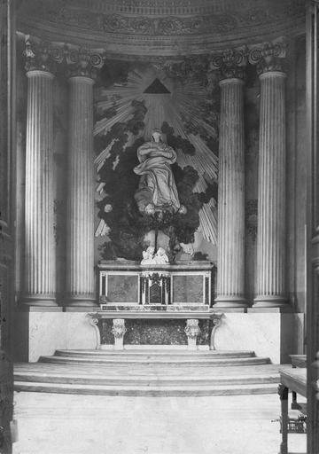 Autel de la chapelle de l'ancien évêché