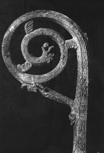 Crosse d'Henri de Grez, à grandeur réelle