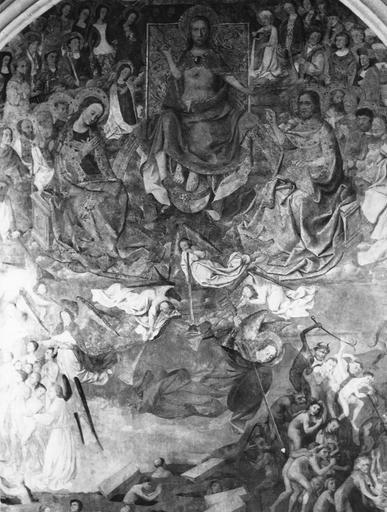 Peinture murale : le Jugement dernier