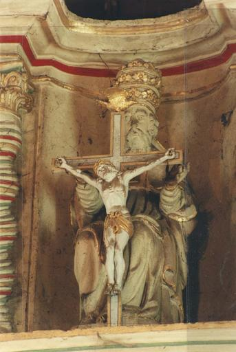 Groupe sculpté : Saint Trinité (La)