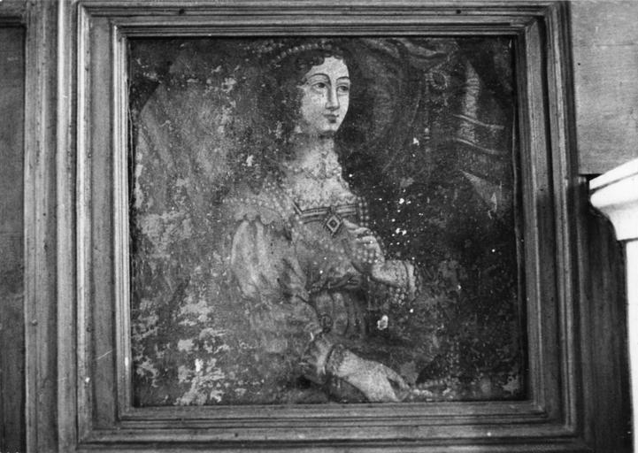 Tableau : Portrait de dame