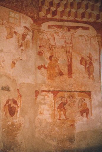 Peintures murales : Crucifixion