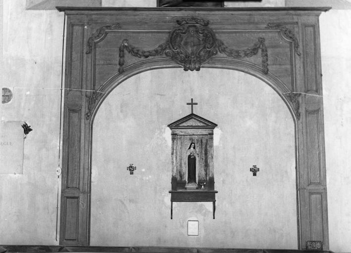 Boiseries du choeur, provenant de l'abbaye de l'Eau