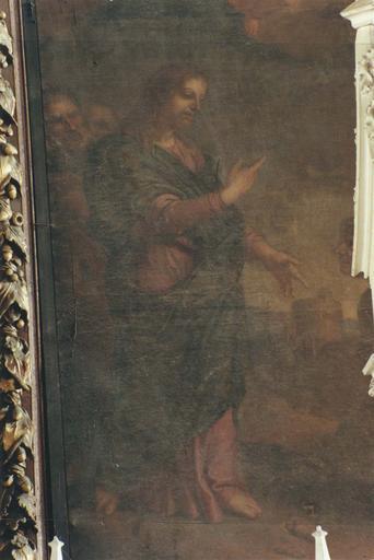 Tableau : Marie Salomé et le Christ, détail du Christ