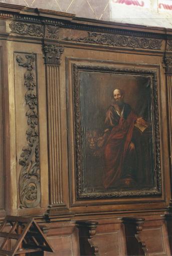Tableau : saint Marc, huile sur toile