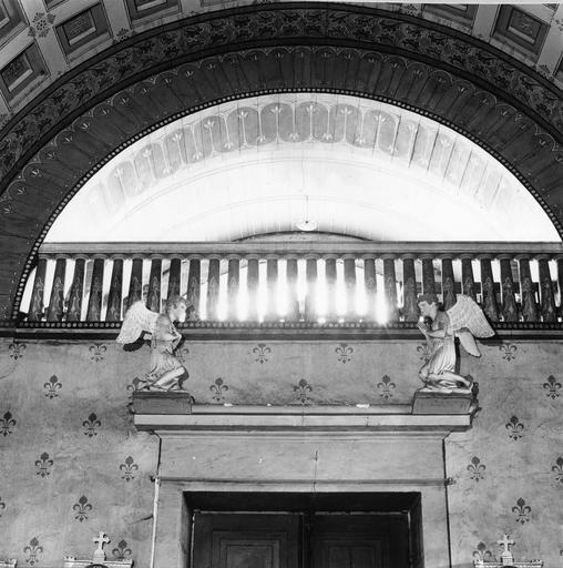 Statues : deux anges adorateurs, vers 1810 - 1816