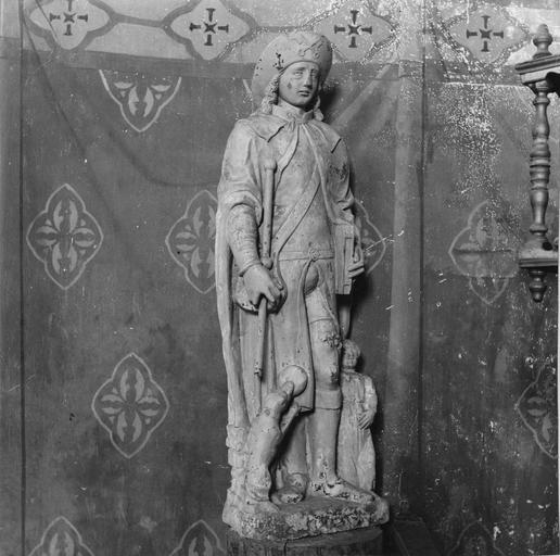 Statue : saint Roch