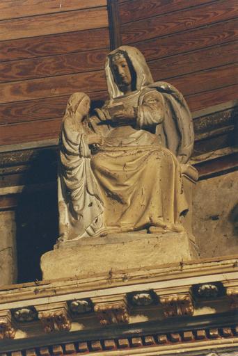 Statue : Education de la Vierge (L')