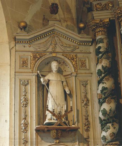 Statue : saint Gilles