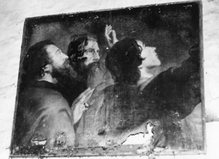 Tableau : détail de la Transfiguration, huile sur toile