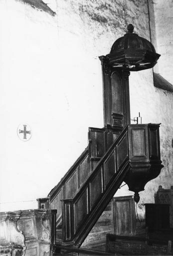 Chaire à prêcher, 1740