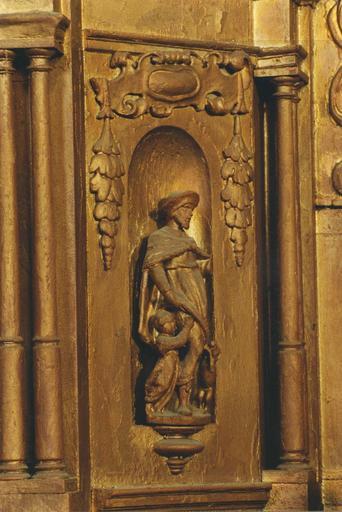 Statue du tabernacle, saint Roch