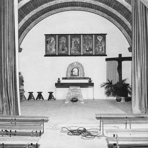Nouvel aménagement de la chapelle latérale