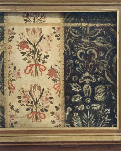 Antependium, détail, motif floral