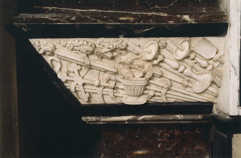 Tombeau d'Antoine Le Camus, détail