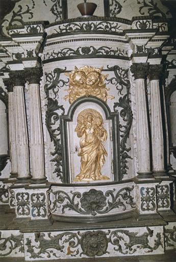 Porte de tabernacle : Christ en berger