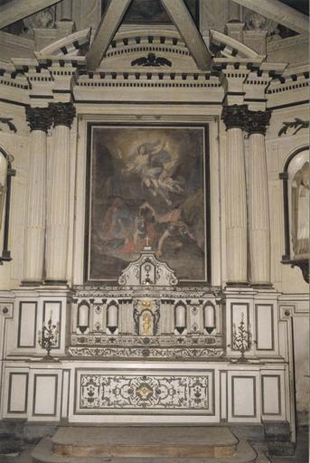 Tableau du maître-autel : La Résurrection du Christ