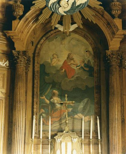 Tableau : La vision de saint Martin