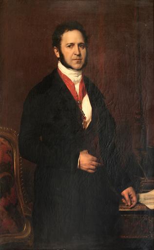 Tableau : portrait du duc de Noailles