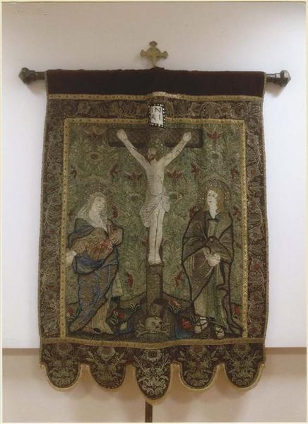 Bannière : La Crucifixion, vue générale