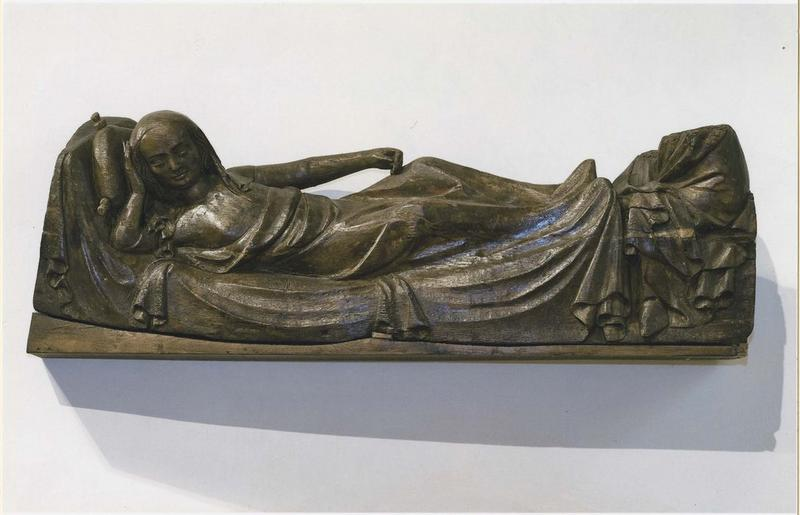 Bas-relief : Vierge parturiente, vue générale