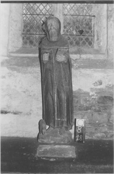 statue (grandeur nature) : Saint Antoine