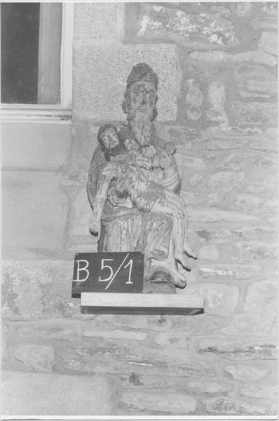 Groupe sculpté : La Trinité