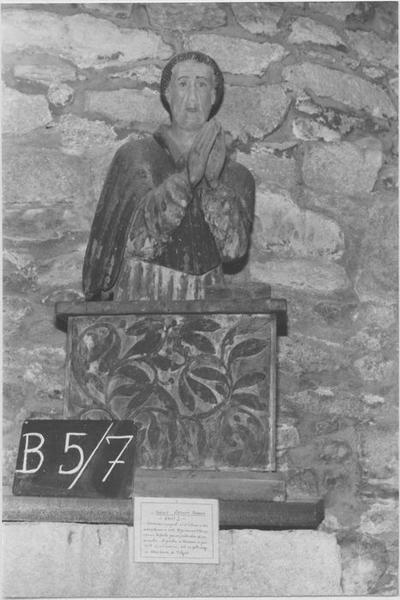 Buste : Saint en prière