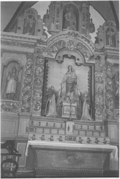 Autels et retables du Rosaire, de Saint-Joseph et de Saint-Miliau