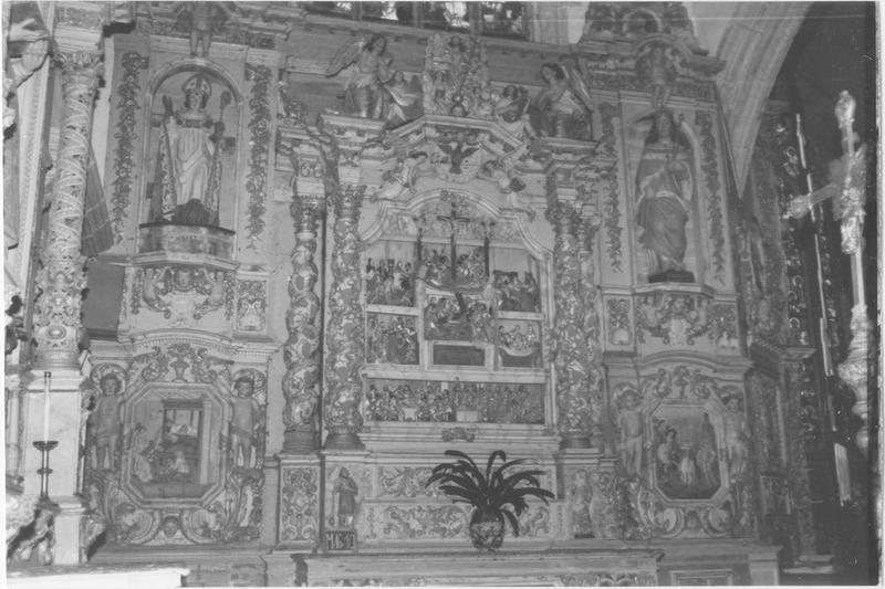 autel et retable de la Passion