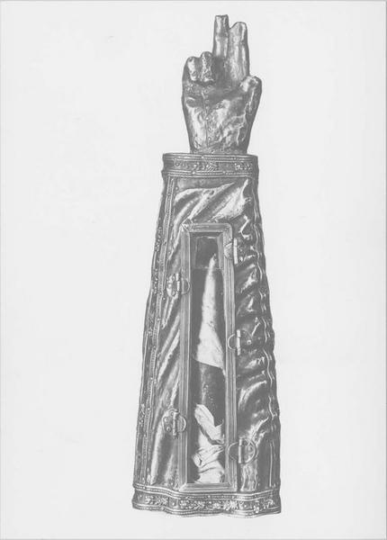 Bras-reliquaire de saint Mériadec