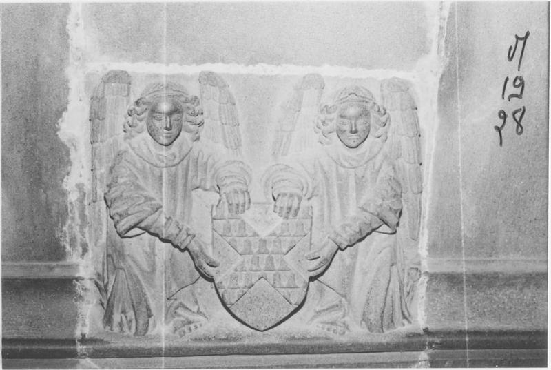 Armoiries de l'évêque Roland de Neuville