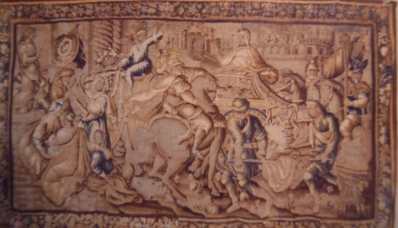 Pièce murale : L'Entrée d'Alexandre le Grand dans Babylone