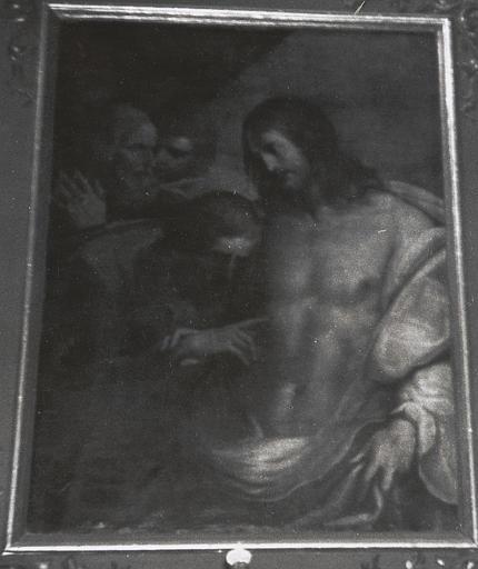 tableau : Incrédulité de saint Thomas