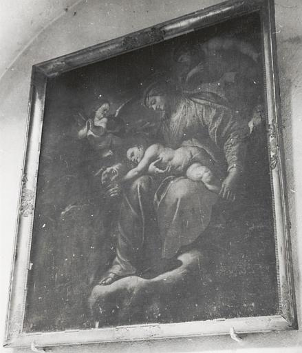 tableau : Vierge à l'Enfant et saint François