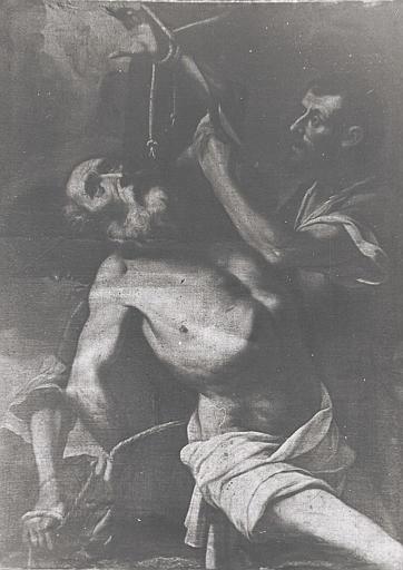 tableau : Martyre de saint Jérôme (le)
