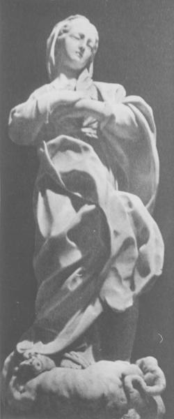 statue : Immaculée Conception, vue générale