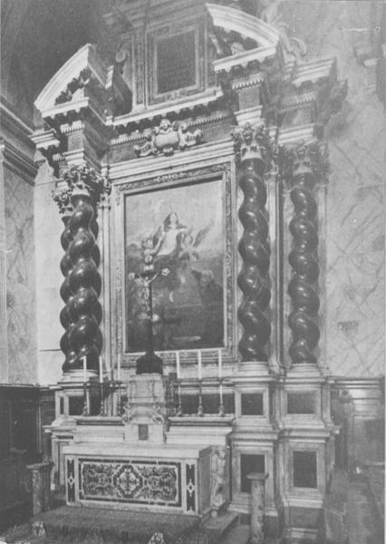 autel, retable (maître-autel), vue générale
