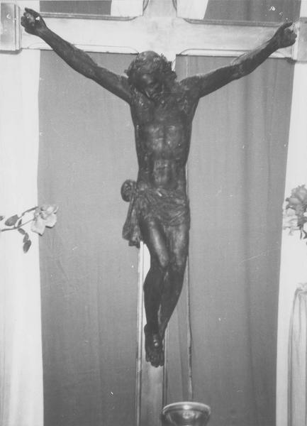 statue : Christ en croix dit Cristo Moro, vuegénérale