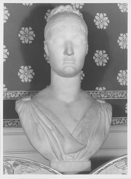 buste : Elisa Bacciochi, grande duchesse de Toscane, vue générale
