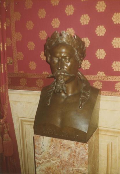buste : Napoléon III, vue générale