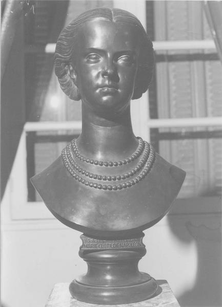 buste : princesse Marie Clotilde de Savoie, vue générale
