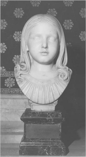 buste : princesse Napoléone Bacciochi, comtesse Camerata, vue générale
