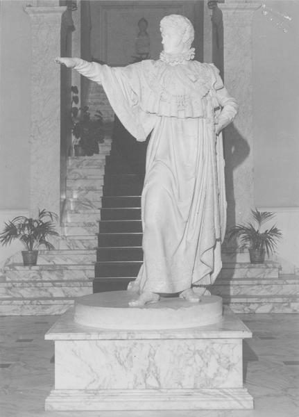 statue : Jérôme Bonaparte roi de Westphalie, vue générale