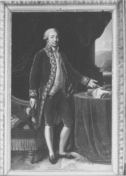 tableau : Charles Bonaparte, vue générale