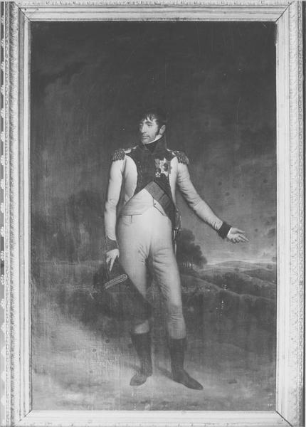 tableau : Louis Bonaparte, roi de Hollande, vue générale